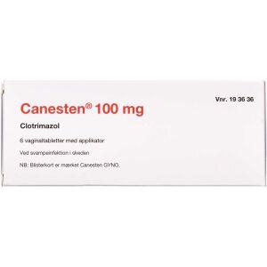 Køb CANESTEN VAGINALTABL 100MG(2C online hos apotekeren.dk