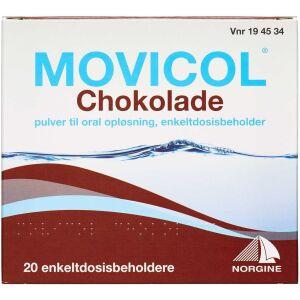 Køb MOVICOL PULV T.ORAL OPL CHOKO online hos apotekeren.dk