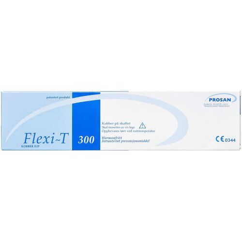 Køb FLEXI-T 300 Kobberspiral 1 stk. 28x23mm online hos apotekeren.dk