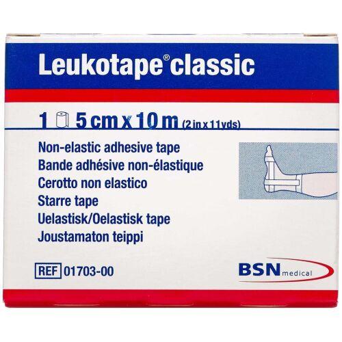 Køb Leukotape Classic 5 cm x 10 m 1 stk. online hos apotekeren.dk