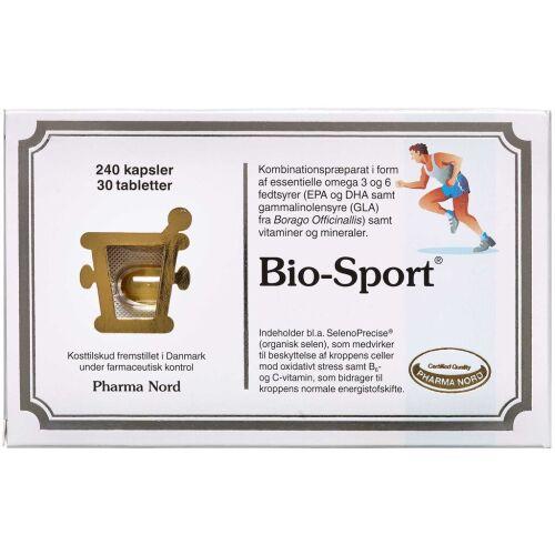 Køb Bio-Sport kapsler og tabletter 240 + 30 stk. online hos apotekeren.dk
