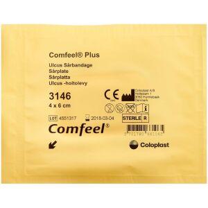 Køb Comfeel Plus Ulcus Sårbandage 3146 4 x 6 cm 1 stk. online hos apotekeren.dk