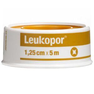 Køb Leukopor 2471 1,25 cm x 5 m 1 stk. online hos apotekeren.dk