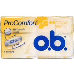 Køb O.B Pro Comport mini tamponer 16 stk. online hos apotekeren.dk