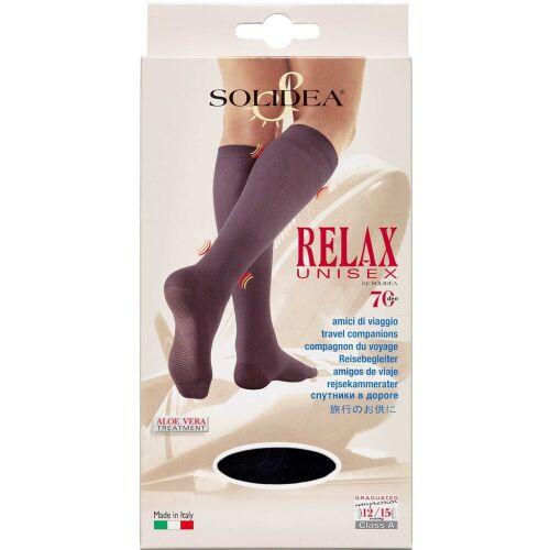 Køb Solidea Knæ Relax Unisex 70 sort - x-large 1 stk. online hos apotekeren.dk