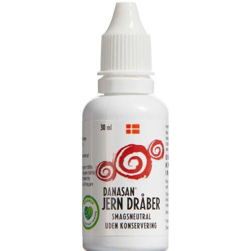 Køb Danasan Jern dråber 30 ml online hos apotekeren.dk