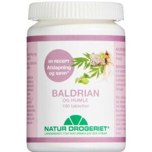 Køb Baldrian-Humle Tabletter 190 stk. online hos apotekeren.dk