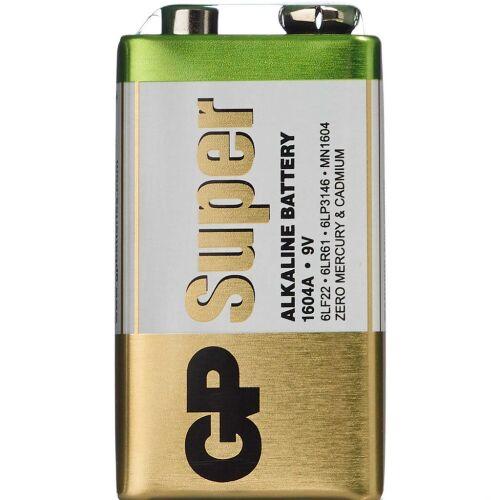 Køb Batteri 9V - 1604A 6LR1 1 stk. online hos apotekeren.dk
