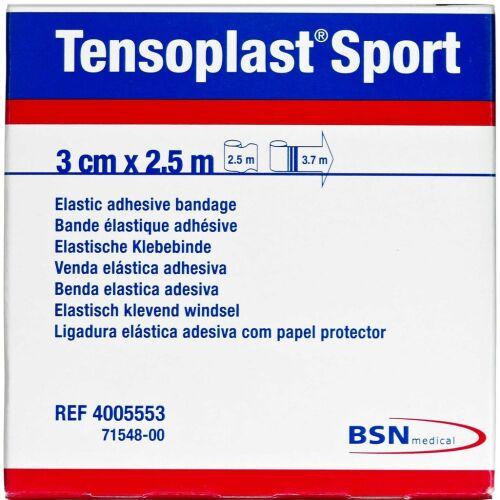 Køb Tensoplast Sport 3 cm x 2,5 m 1 stk. online hos apotekeren.dk