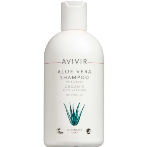 Køb AVIVIR Aloe Vera Shampoo Hair and Body 300 ml online hos apotekeren.dk
