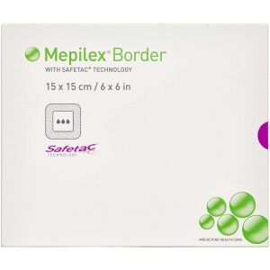 Køb Mepilex Border 15x15 cm 5 stk. online hos apotekeren.dk