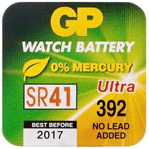 Køb Batteri 1, 55V GP 392 SR41 1 stk. online hos apotekeren.dk