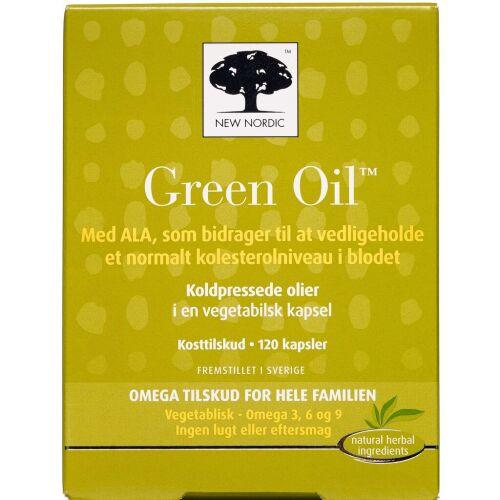 Køb Green Oil kapsler 120 stk. online hos apotekeren.dk