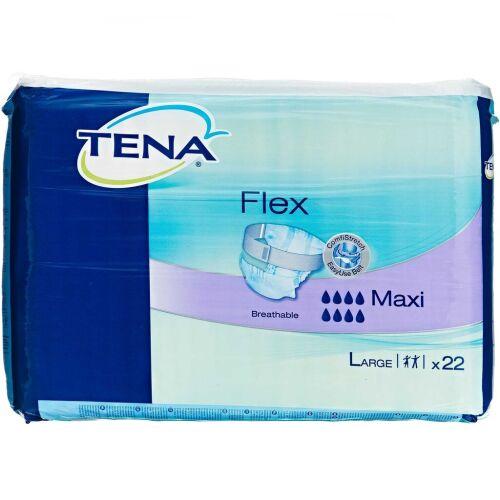 Køb TENA Flex Maxi Large 22 stk. online hos apotekeren.dk