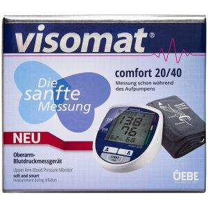 Køb Visomat Comfort Blodtryksapparat 20/40 overarm 1 stk. online hos apotekeren.dk