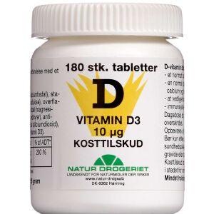 Køb D3 Vitamin 400 IE 180 stk. online hos apotekeren.dk