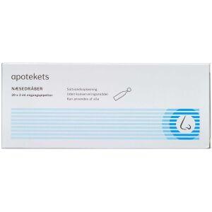 Køb Apotekets Næsedråber 20 x 2 ml online hos apotekeren.dk