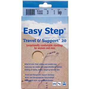 Køb Easy Step knæ travel mix beige 39-40 1 par online hos apotekeren.dk