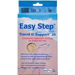 Køb Easy Step knæ travel mix beige 42-43 1 par online hos apotekeren.dk
