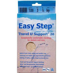 Køb Easy Step knæ travel mix beige 43-44 1 par online hos apotekeren.dk