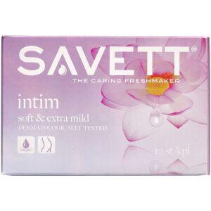 Køb Savett Intim Vådservietter 10 stk. online hos apotekeren.dk