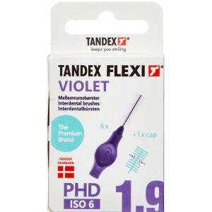 Køb Tandex Flexi Mellemrumsbørste - violet 8,0 mm 6 stk. online hos apotekeren.dk