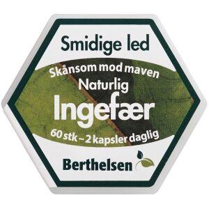 Køb Berthelsen Ingefær 60 stk. online hos apotekeren.dk