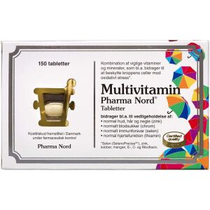 Køb Multivitamin 150 Stk. online hos apotekeren.dk