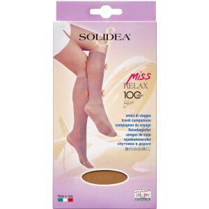 Køb Solidea Knæ Miss Relax 100 SH Camel Small 1 par online hos apotekeren.dk
