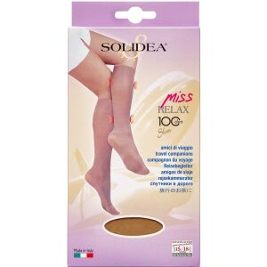 Køb Solidea Knæ Miss Relax 100 SH Camel Medium 1 par online hos apotekeren.dk
