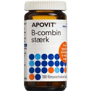 Køb Apovit B-combin stærk tabletter 100 stk. online hos apotekeren.dk