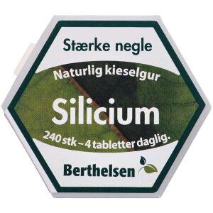 Køb Berthelsen Naturlig Silicium tabletter 240 stk. online hos apotekeren.dk