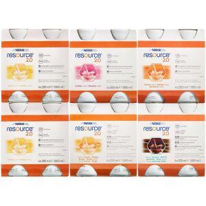 Køb Resource 2.0 Mix 6 x 4 x 200 ml online hos apotekeren.dk