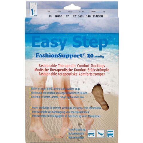 Køb Easy Step knæ lukket tå nude XL 1 par online hos apotekeren.dk