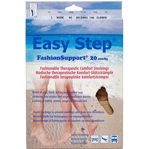 Køb Easy Step knæ lukket tå nude L 1 par online hos apotekeren.dk