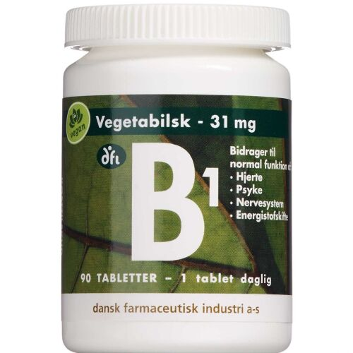 Køb B1-Vitamin 90 stk. online hos apotekeren.dk