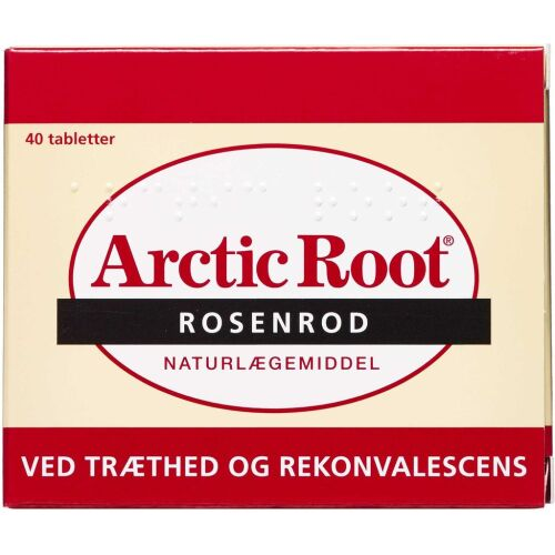 Køb Arctic Root Rosenrod tabletter 40 stk. online hos apotekeren.dk