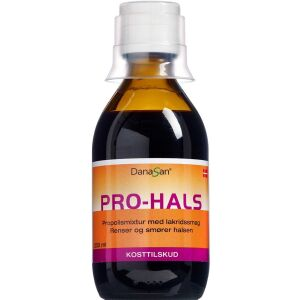 Køb PRO-HALS Mikstur 200 ml online hos apotekeren.dk