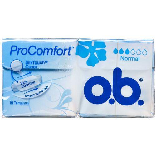 Køb O.B. Pro Comfort tampon normal 16 stk. online hos apotekeren.dk