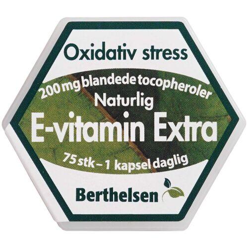Køb Berthelsen E-vitamin Extra 75 stk. online hos apotekeren.dk