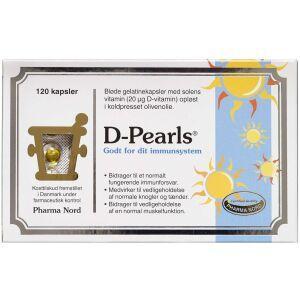 Køb D-Pearls 20 mikg kapsler 120 stk. online hos apotekeren.dk