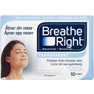 Køb Breathe Right Næsestrips 10 stk. online hos apotekeren.dk