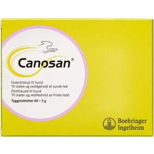Køb Canosan Tyggetablet til hunde 60 stk. online hos apotekeren.dk