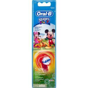 Køb Oral-B Stages Power Kids EB10-2 refill ass. motiv 2 stk. online hos apotekeren.dk