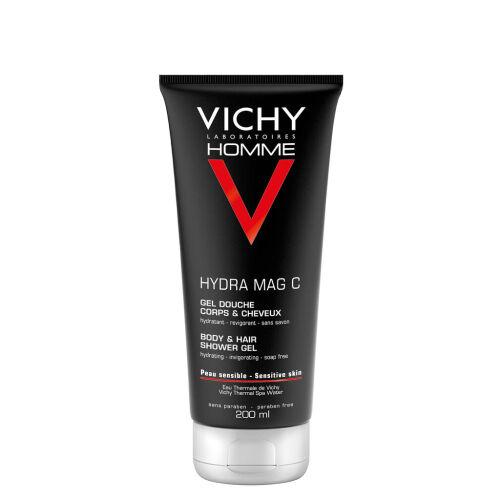 Køb Vichy Homme Hydra Mag C Shower Gel 200 ml online hos apotekeren.dk