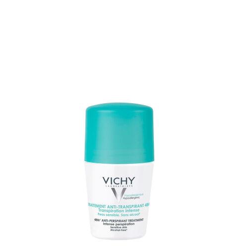 Køb Vichy Antiperspirant deodorant roll-on 48H 50 ml online hos apotekeren.dk