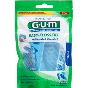 Køb GUM Tandtråd Easy Flossers 30 stk. online hos apotekeren.dk