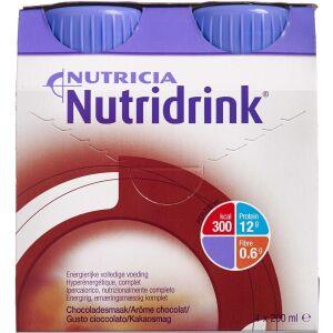 Køb Nutridrink Chokolade 4 x 200 ml online hos apotekeren.dk