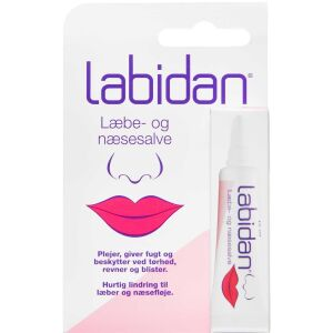 Køb Labidan læbe- og næsesalve 10 ml online hos apotekeren.dk