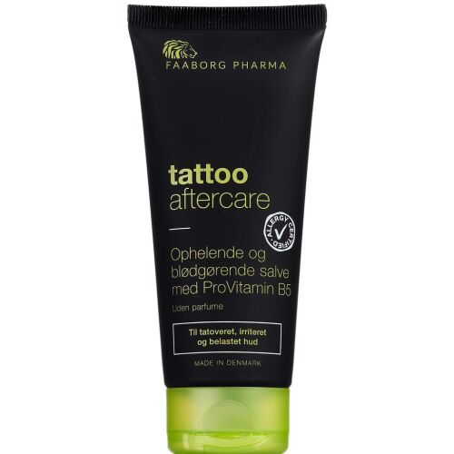 Køb Faaborg Pharma Tattoo Aftercare salve 100 ml online hos apotekeren.dk